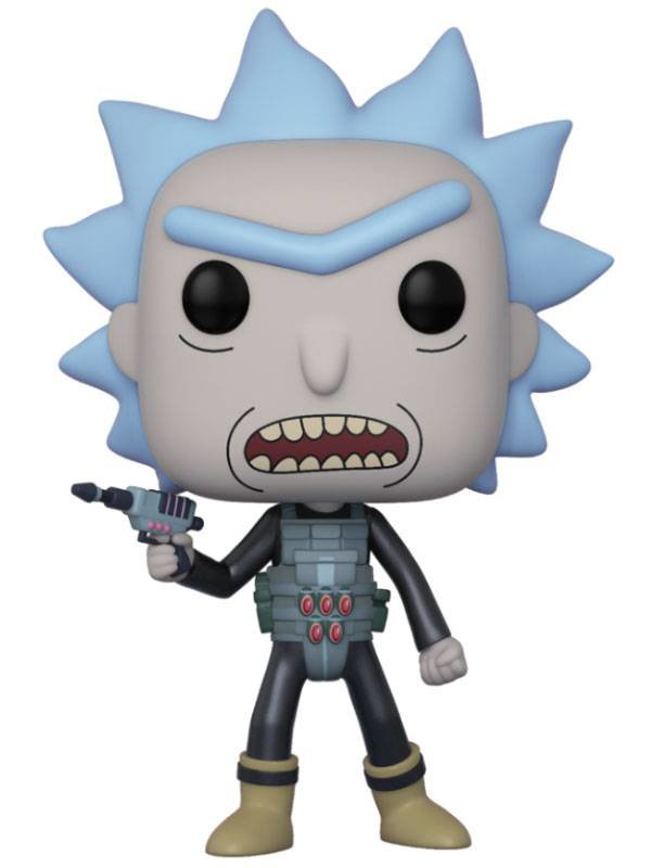 Rick and Morty: Prison Break Rick Vinyl Figur