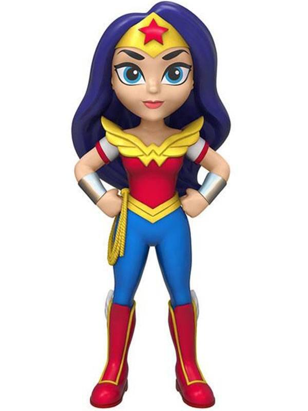 Rock Candy | Wonder Woman (Super Hero) Vinyl Figur
