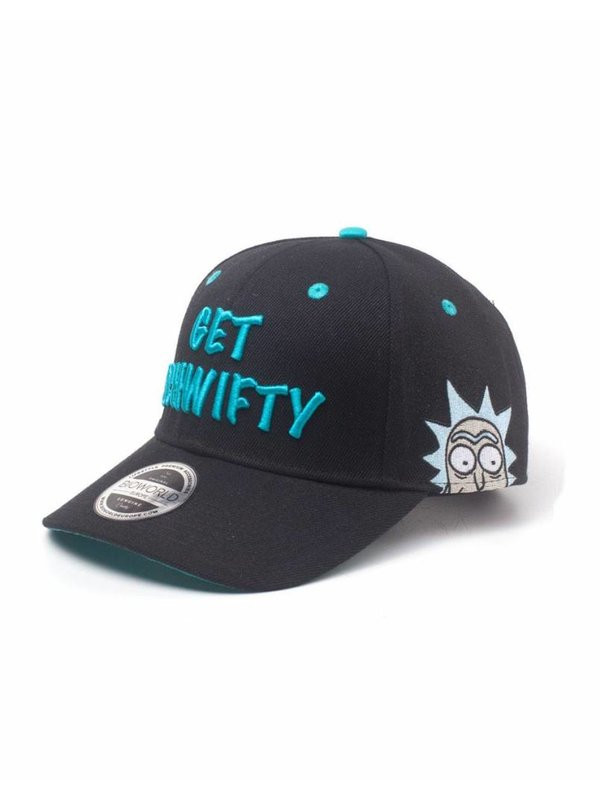 Rick and Morty | Get Schwifty Snapback Cap