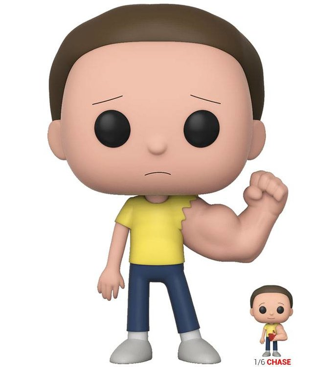 Funko Rick and Morty: Sentient Arm Morty Vinyl Figur (Chase Chance)