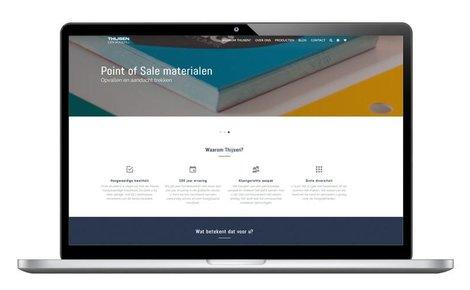 Lancering nieuwe website Thijsen