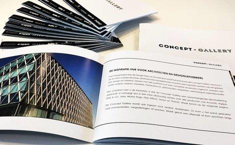 Concept Gallery verbindt partners met drukwerk van Thijsen