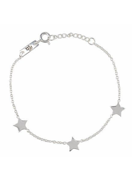 Lennebelle You are my shining star - Daughter Bracelet Silver