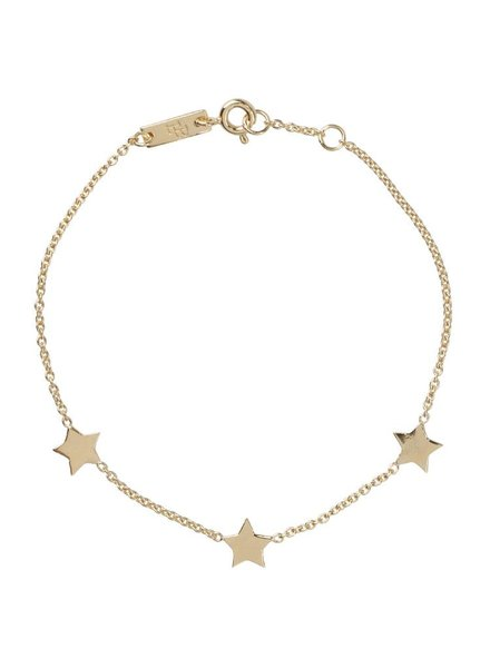 Lennebelle are my shining star - Mother Bracelet Gold Plated