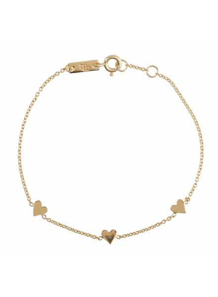 Lennebelle You are loved - Mother Bracelet Gold Plated