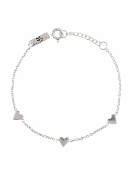 Lennebelle You are loved - Daughter Bracelet Silver