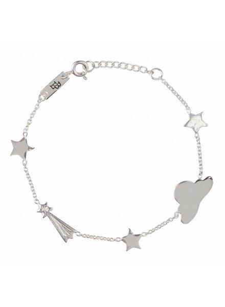 Lennebelle Stargzer - Daughter Bracelet Silver