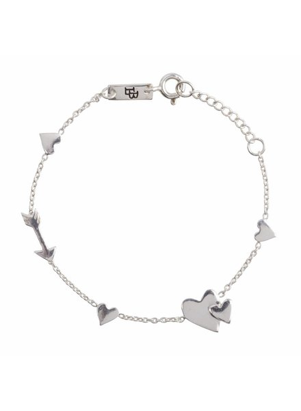 Lennebelle Motherlove - Daughter Bracelet Silver
