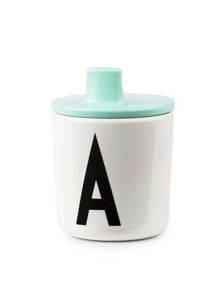 Design Letters Drinkdeksel Mint