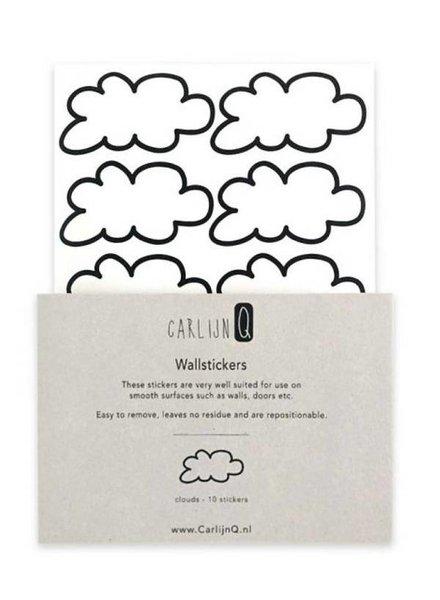 CarlijnQ Wallstickers Cloud