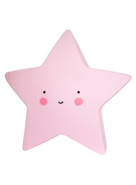 A Little Lovely Company Star Light - Pink