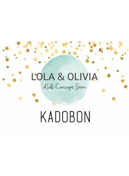 LOLA & OLIVIA giftcard ter waarde van €25,-