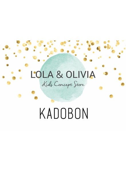 LOLA & OLIVIA giftcard ter waarde van €10,-