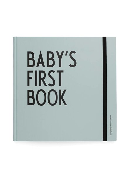 Design Letters Baby's First Book Mint