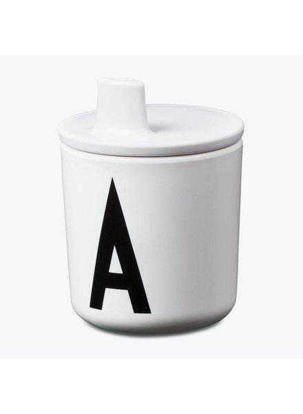 Design Letters Drinkdeksel Wit