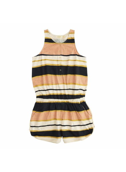 Soft Gallery Jumpsuit Athena Cream Stripe Melange