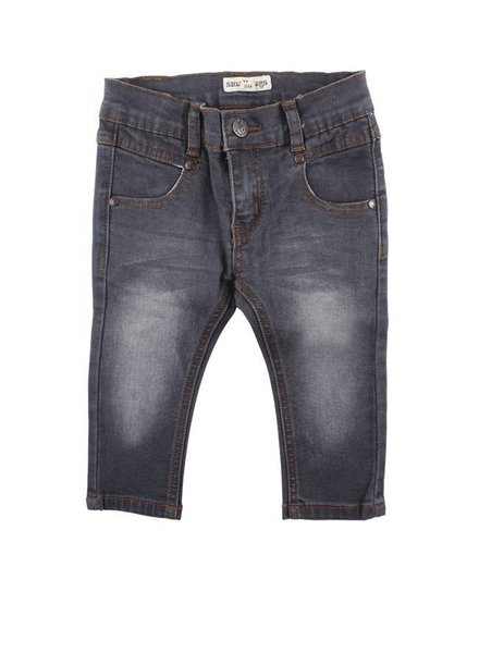 Small Rags Denim Jeans Grey Blue