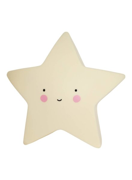 A Little Lovely Company Star Light - Yellow