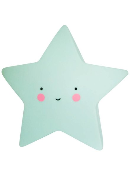 A Little Lovely Company Star Light - Mint
