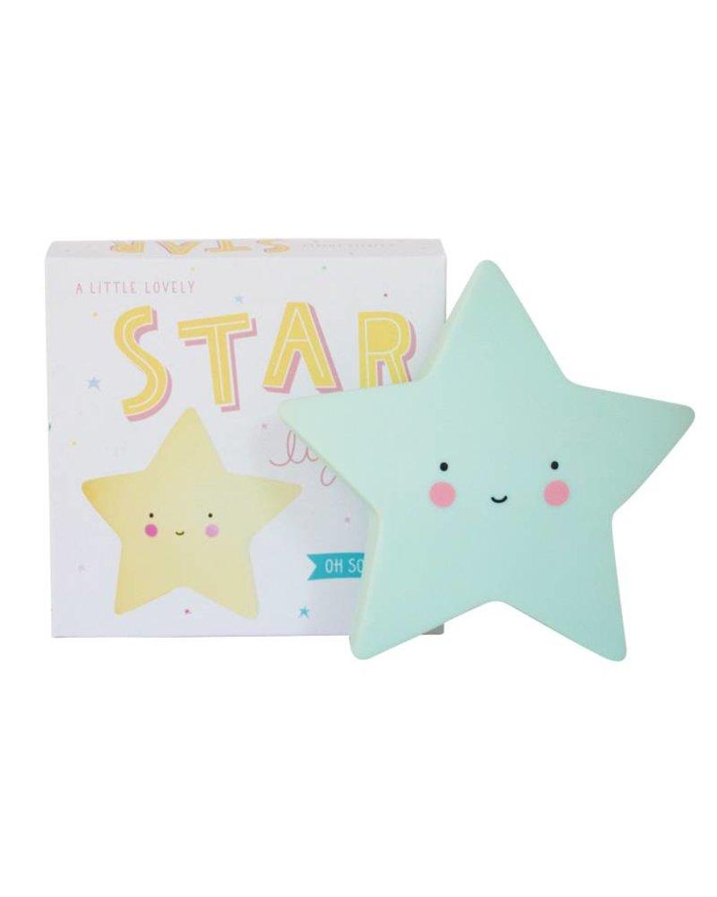 A Little Lovely Company Star Light - Mint