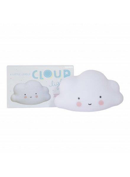 A Little Lovely Company Mini Cloud Light - White