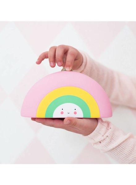A Little Lovely Company Moneybox Rainbow