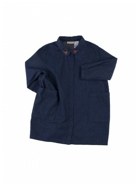 Tiny Cottons Denim Shirt Dress