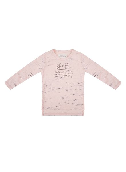 Little Indians Longsleeve Bear - shallop shell