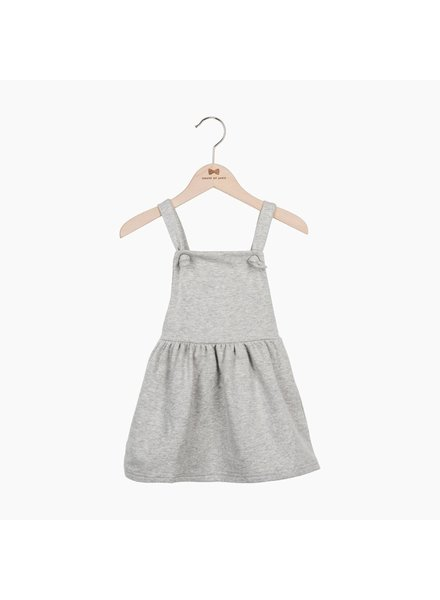 House of Jamie Dungaree Dress Stone