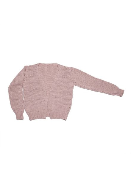 MINGO Cardigan Alpaca Pink