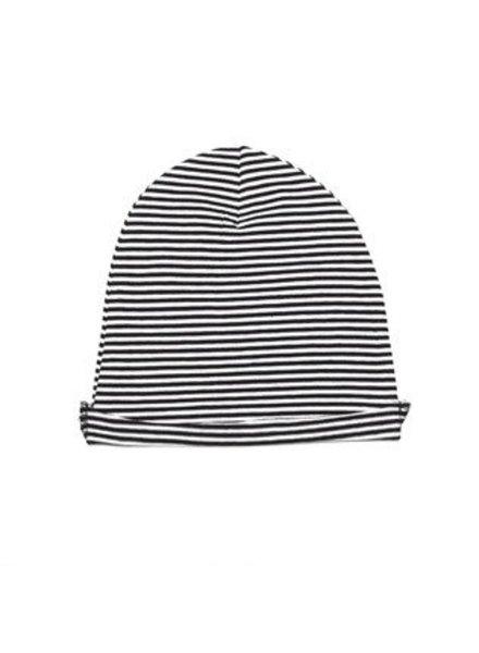 MINGO Beanie jersey b/w Stripes