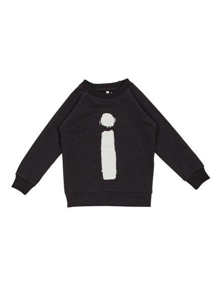 IGLO + INDI i+i Black Crew Sweater