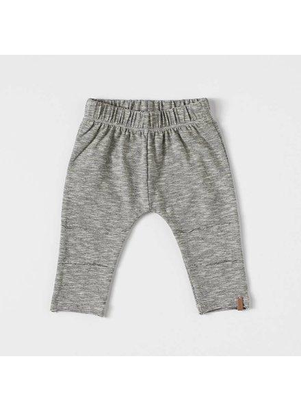 NIXNUT Slim Pants Black/White stripe