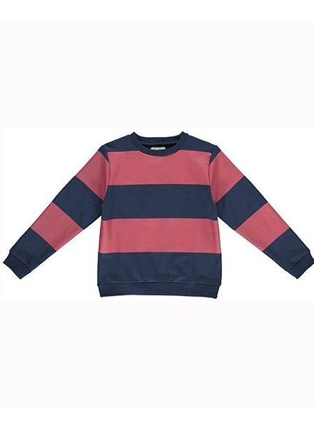 Gro Company Sweater Classic Navy/Red - Mads