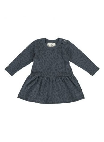 Gro Company Baby dress March - Dark Washed