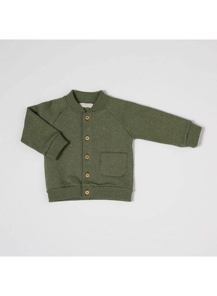 NIXNUT Speckle Vest Moss