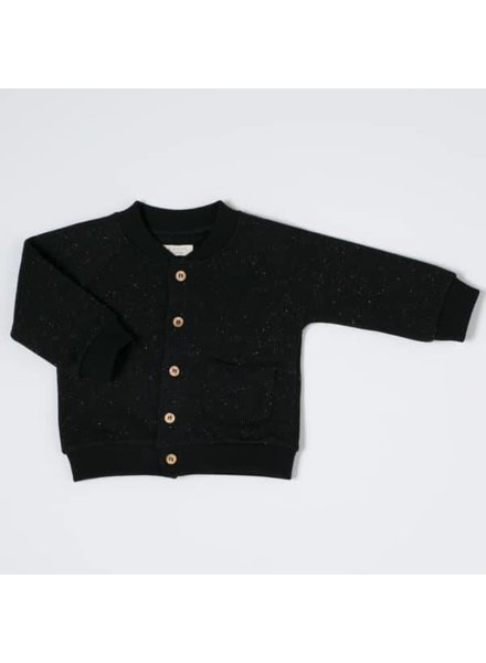NIXNUT Speckle Vest Black