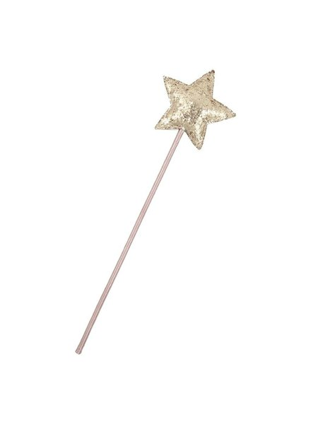 MIMI & LULA MAGIC FAIRY SPARKLE STAR WAND-GREY