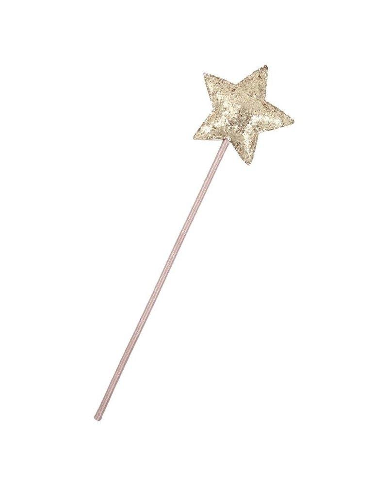 MIMI & LULA MAGIC FAIRY SPARKLE STAR WAND-GREY