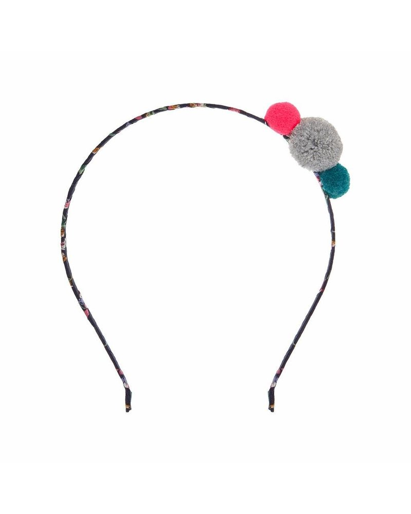 MIMI & LULA MINI POM POM ALICE BAND-MULTI