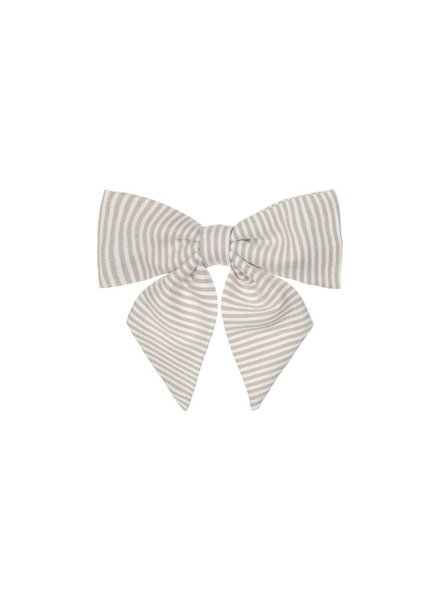 MIMI & LULA PEPPER PRINTED BOW - IVORY
