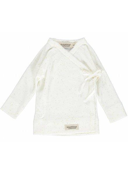 MarMar Copenhagen Tut Wrap - New born print Gold dust