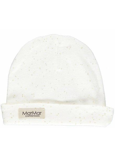 MarMar Copenhagen Aiko hat - New born print Gold dust
