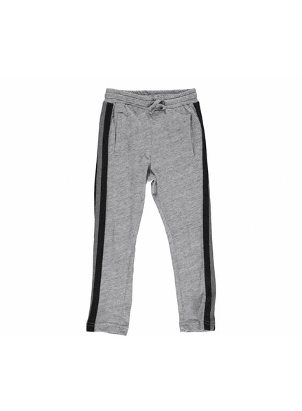 MarMar Copenhagen Girl Pants Peo Melange Slub - Grey Melange