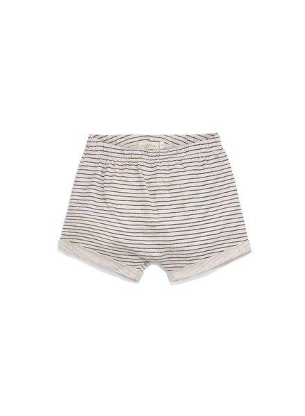 Phil & Phae Shorts stripe - oatmeal