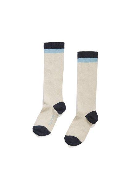 Phil & Phae Knee Socks - matte indigo