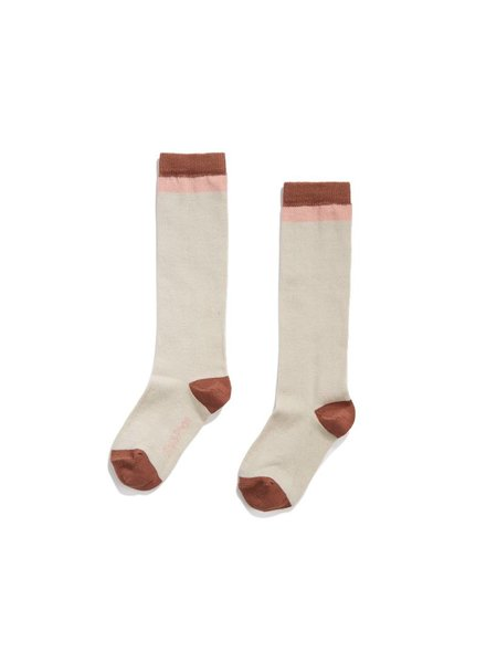 Phil & Phae Knee Socks - Toffee