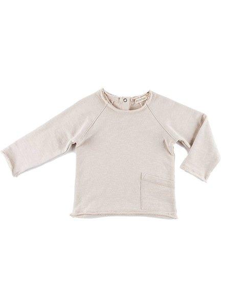 Phil & Phae Raw edge sweater - oatmeal