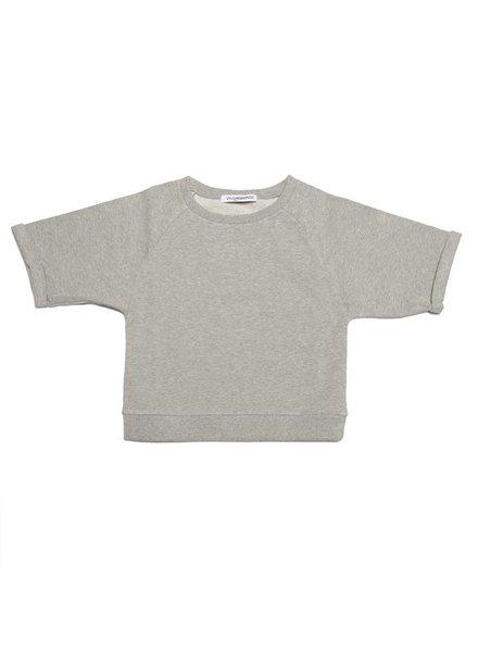 MINGO Cropped sweater Baby Sweat Grey