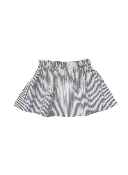 Petit Blush Skirt Grey Stripe